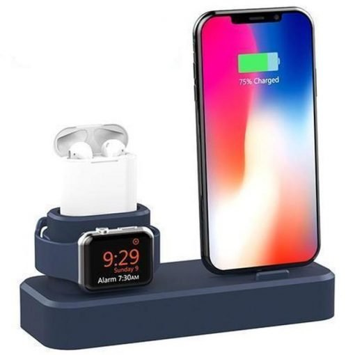 3 in 1 Silicone Charging Stand