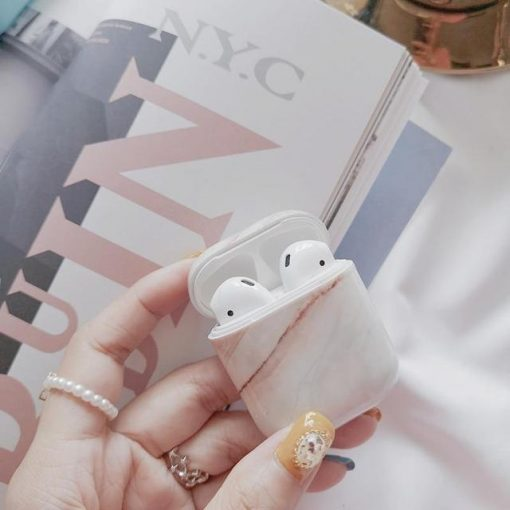 Agate Marble AirPods Case Shock Proof Cover