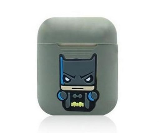 Batman Action Grey AirPods Case Shock Proof Cover