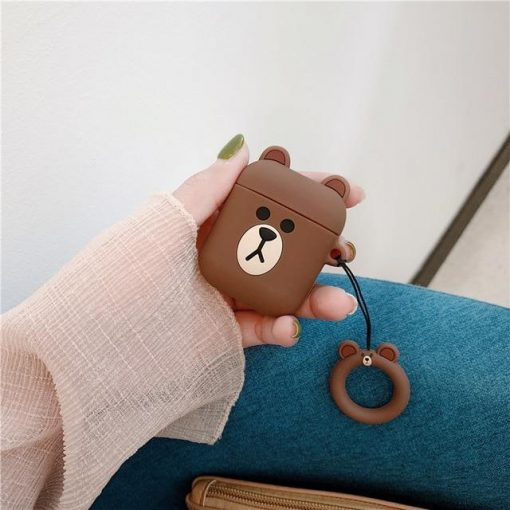 Bear AirPods Case Shock Proof Cover