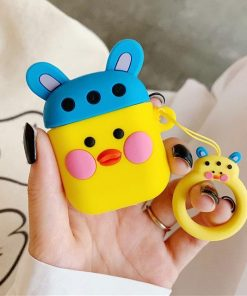 Blue Hat Duck AirPods Case Shock Proof Cover