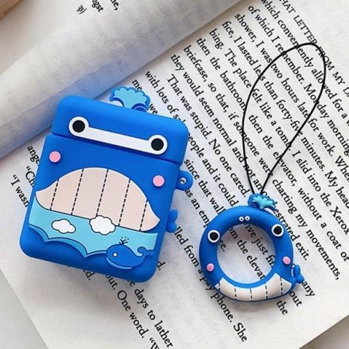 Blue Whale AirPods Case Shock Proof Cover