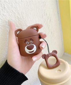Brown Bear Premium AirPods Case Shock Proof Cover