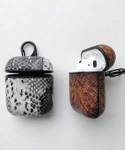 Brown Boa AirPods Case Shock Proof Cover