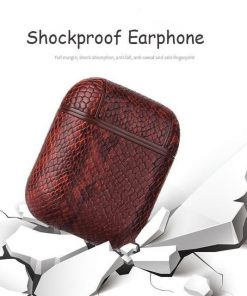 Brown Rattle Snake AirPods Shock Proof Cover