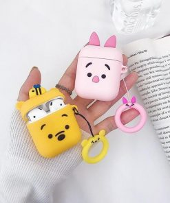 Bumble Bee Bear AirPods Case Shock Proof Cover