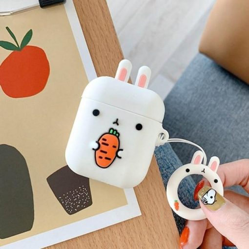 Bunny Carrot AirPods Case Shock Proof Cover