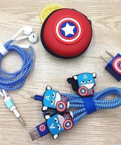 Captain America Comic Charging Set
