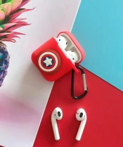 Captain America Shield AirPods Case Shock Proof Cover