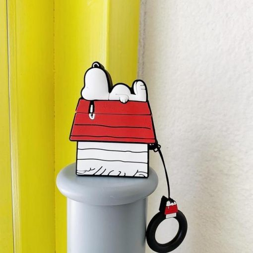 Charlie Brown 'Snoopy Shed' Premium AirPods Case Shock Proof Cover