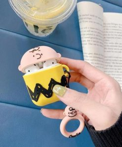 Charlie Brown 'T-Shirt' Premium AirPods Case Shock Proof Cover