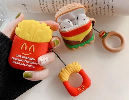 Cheeseburger AirPods Case Shock Proof Cover