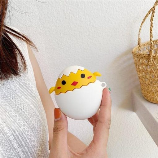 Chickadee 'Chicken or the Egg' Premium AirPods Case Shock Proof Cover