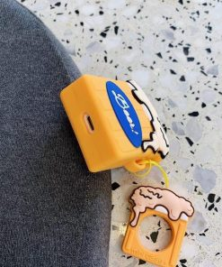 Classic Beer Gold Mug Premium AirPods Case Shock Proof Cover