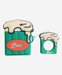 Classic Beer Green Mug Premium AirPods Case Shock Proof Cover