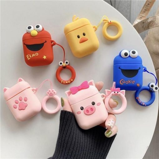 Cookie Monster AirPods Case Shock Proof Cover