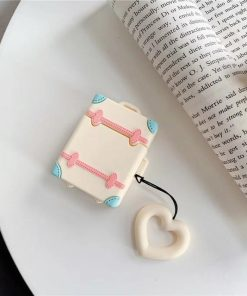 Cream Trunk AirPods Case Shock Proof Cover