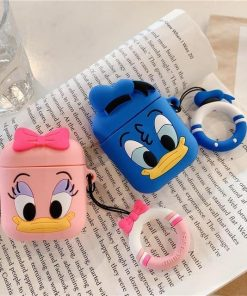 Daisy Duck AirPods Case Shock Proof Cover