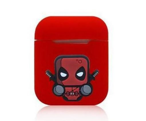 Deadpool Action Red AirPods Case Shock Proof Cover
