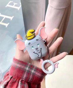 Dumbo Grey Premium AirPods Case Shock Proof Cover