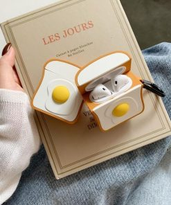 Eggs on Toast Premium AirPods Case Shock Proof Cover