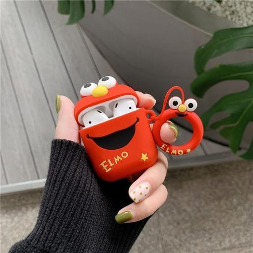 Elmo AirPods Case Shock Proof Cover