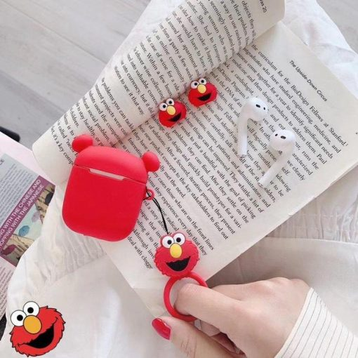 Elmo Ears AirPods Case Shock Proof Cover