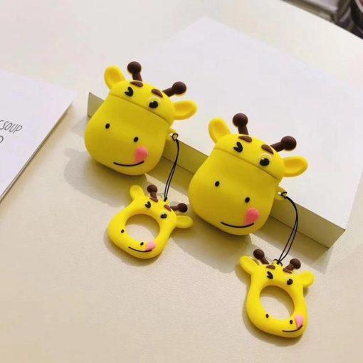 Giraffe Premium AirPods Case Shock Proof Cover