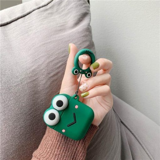 Green Muppet AirPods Case Shock Proof Cover