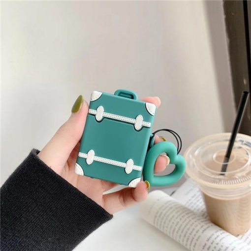 Green Trunk AirPods Case Shock Proof Cover