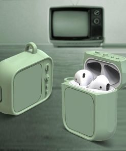 Green Tube TV AirPods Case Shock Proof Cover