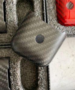 Grey Carbon Fiber Premium AirPods Case Shock Proof Cover