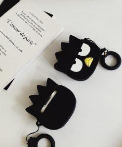 Grumpy Penguin Premium AirPods Case Shock Proof Cover