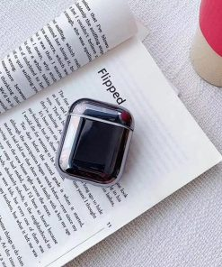 Gunmetal Plated AirPods Case Shock Proof Cover