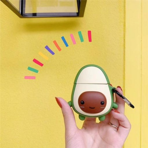 Happy Avocado Premium AirPods Case Shock Proof Cover