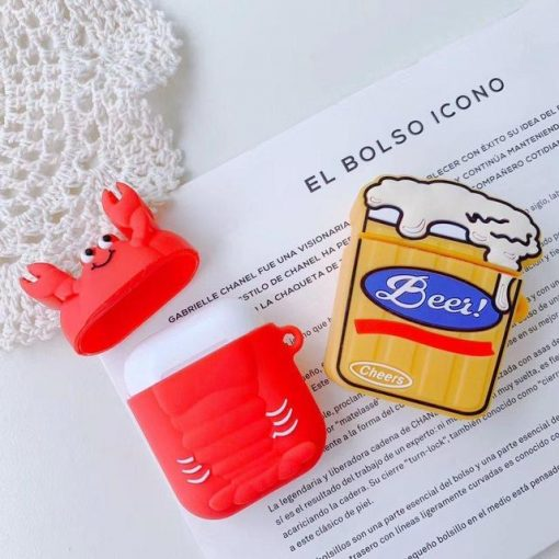 Happy Lobster AirPods Case Shock Proof Cover