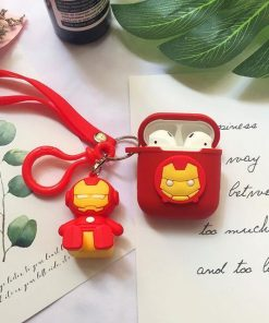 Iron Man Comic AirPods Case Shock Proof Cover
