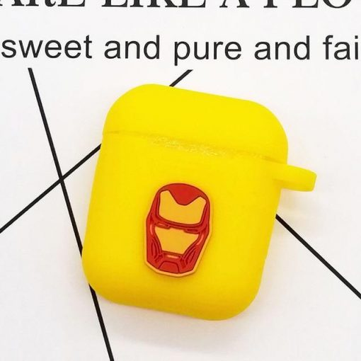Iron Man Helmet AirPods Case Shock Proof Cover