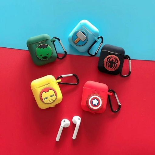 Iron Man Yellow AirPods Case Shock Proof Cover