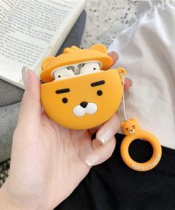Kakao Friends 'Ryan' Premium AirPods Case Shock Proof Cover