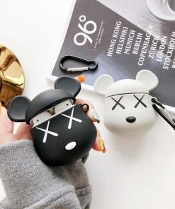 KAWS Black AirPods Case Shock Proof Cover