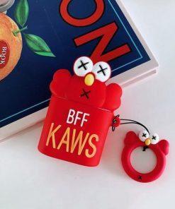 KAWS Elmo AirPods Case Shock Proof Cover