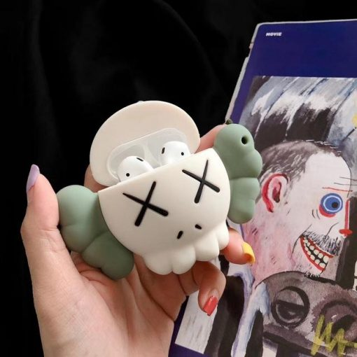 KAWS Green Skull Premium AirPods Case Shock Proof Cover