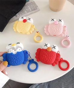 KAWS Pink Owl AirPods Case Shock Proof Cover
