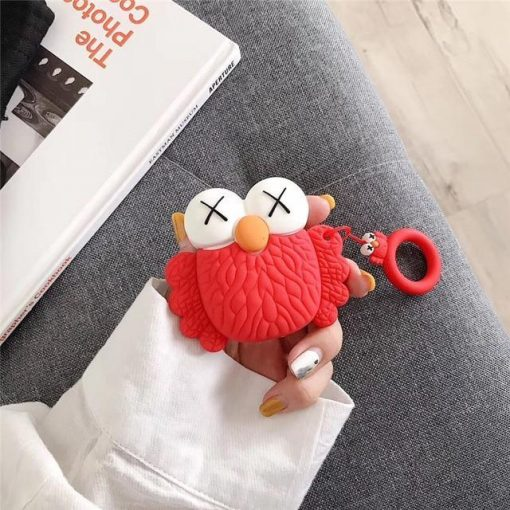 KAWS Red Owl AirPods Case Shock Proof Cover