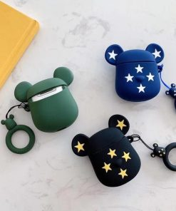 Limited Edition KAWS Gloomy 'Blue White Stars' Premium AirPods Case Shock Proof Cover