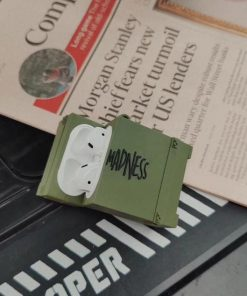 Madness Army Crate Premium AirPods Case Shock Proof Cover