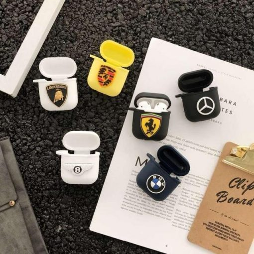 Mercedes Benz AirPods Case Shock Proof Cover