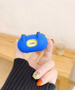 Minions Happy Blue Premium AirPods Case Shock Proof Cover