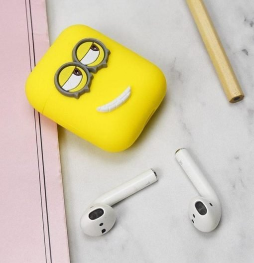 Minions Right Smile AirPods Case Shock Proof Cover